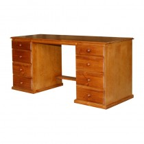 8 drawer desk