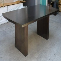 D-End style Hardwood dining Table