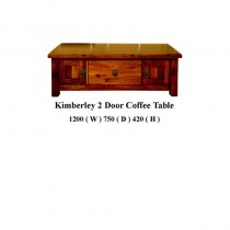 Kimberly 2 door coffee table